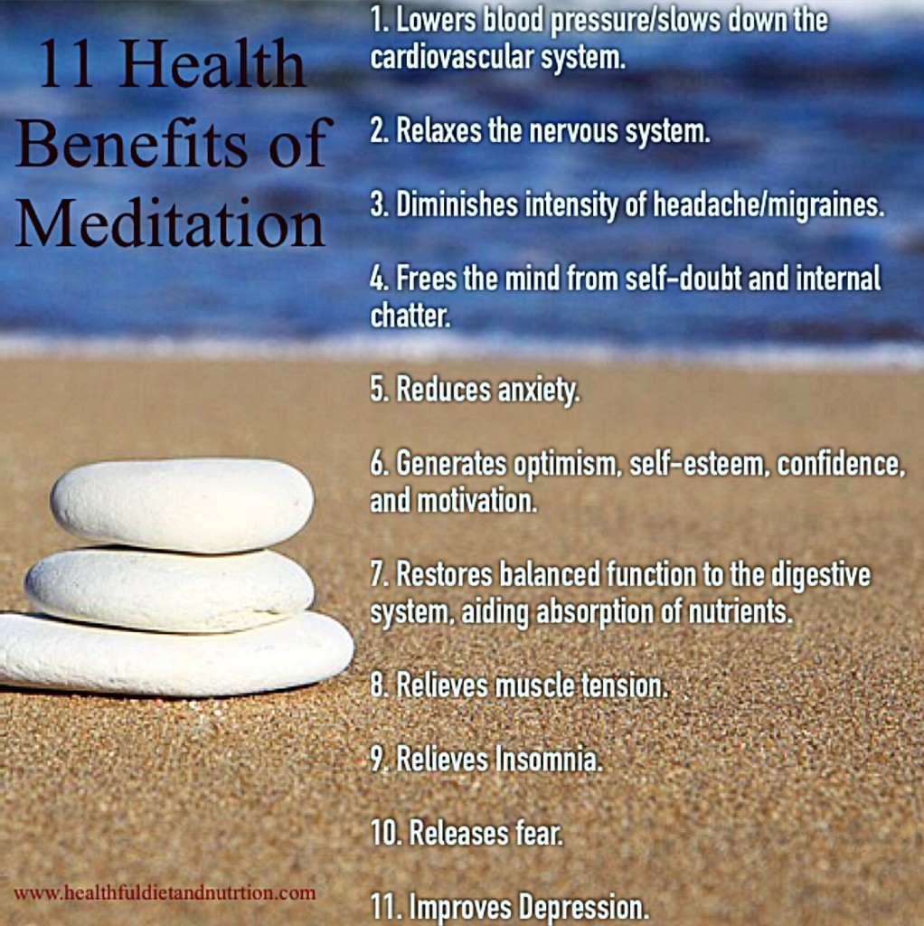 health benefits of meditation Benefits of meditation science has shown that your mind and body benefits from taking time out of your daily life to shut down and meditate the benefits of meditation are endless, but mantras for anxiety or sinking into deep relaxation with yoga nidra will help you feel centered.