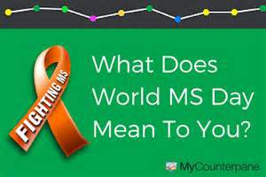 world ms day may 25 2016