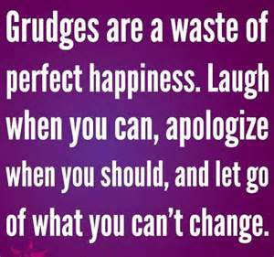 No more grudges