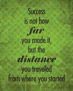 success is not far away