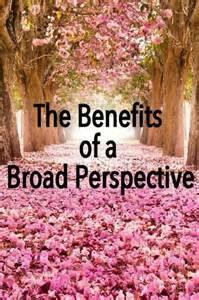 borader perspective