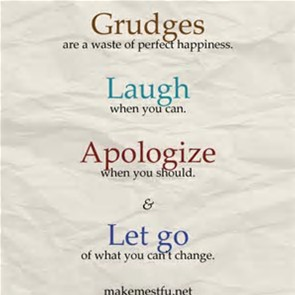 let go grudges