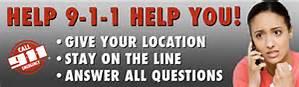 Get help call 911
