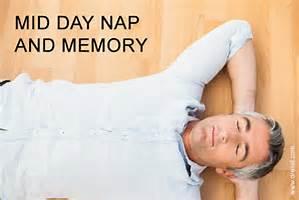 midday nap
