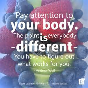pay attention to your health