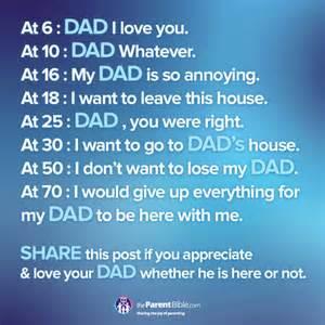 Appreciate your father