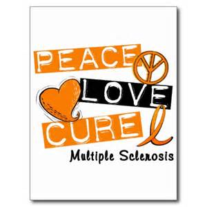 Peace love cure ms