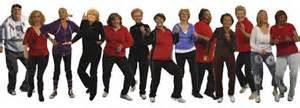 Senior citizen dance