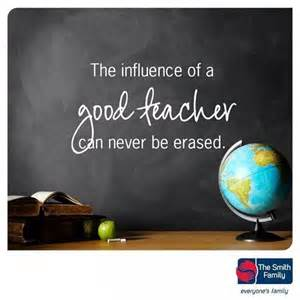 influence of a good teacher
