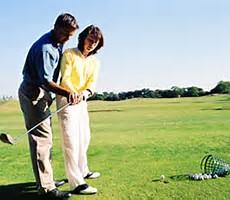 brand new golfer