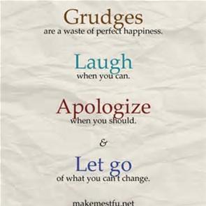 let go grudges
