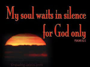 silence my soul
